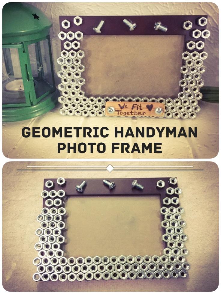 Geometric Handyman Photo Frame
