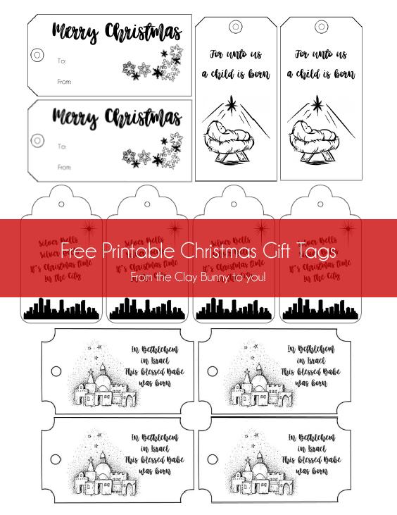 Christmas Tag Image 1 - Complete
