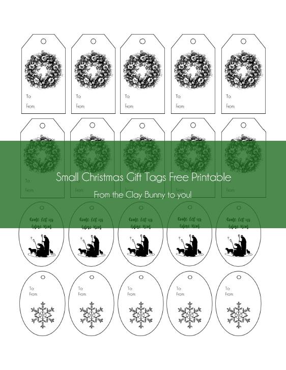 Christmas Tag Image 2 - Complete